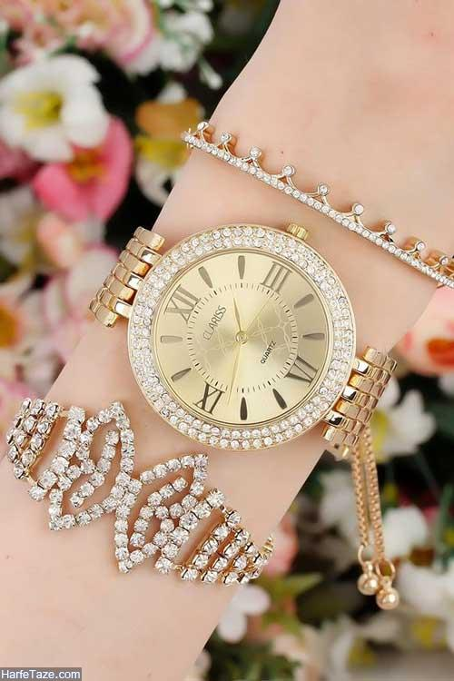 ساعت دستبندی زنانه