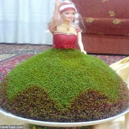 مدل سبزه عید