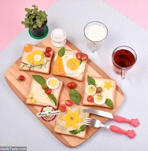 صبحانه پنیری