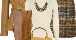 استایل زمستانی زنانه + ست لباس زمستانی زنانه