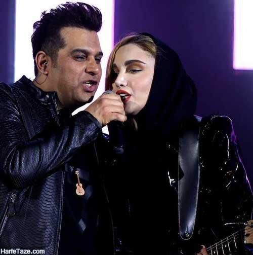 نگین پارسا در کنسرت حمید عسکری