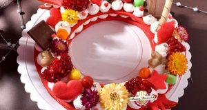 طرز تهیه کیک سابله یا بیسکو کیک