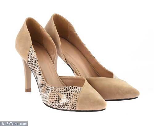 کفش پوست ماری مجلسی