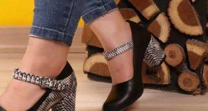 کفش پوست ماری زنانه مد سال 2019