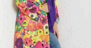 مدلهای شیک مانتو گل گلی فصل بهار 98