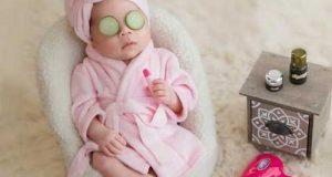 ایده های خلاقانه عکاسی از نوزاد در خانه