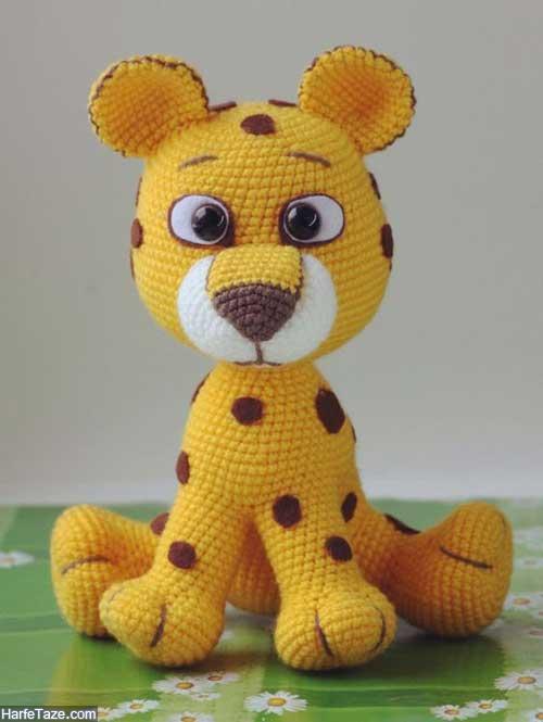 عروسک بافتنی حیوانات