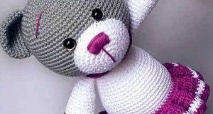 مدل عروسک بافتنی حیوانات برای سیسمونی