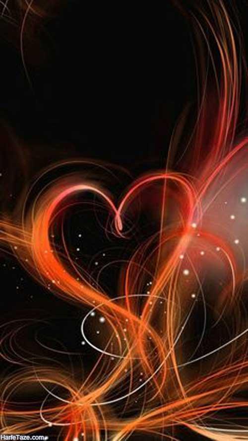 بک گراند قلب
