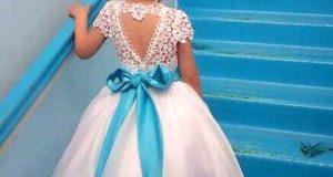 مدل لباس عروس بچه گانه جدید و شیک 2019