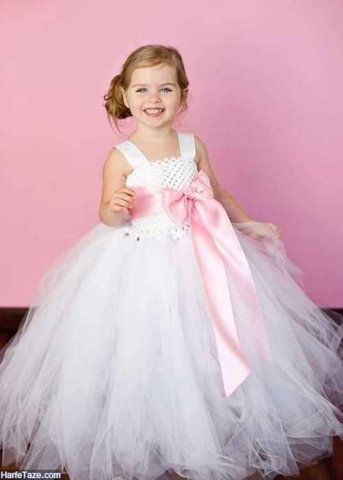 لباس عروس بچه گانه