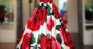 مدل لباس مجلسی گلدار زنانه و دخترانه