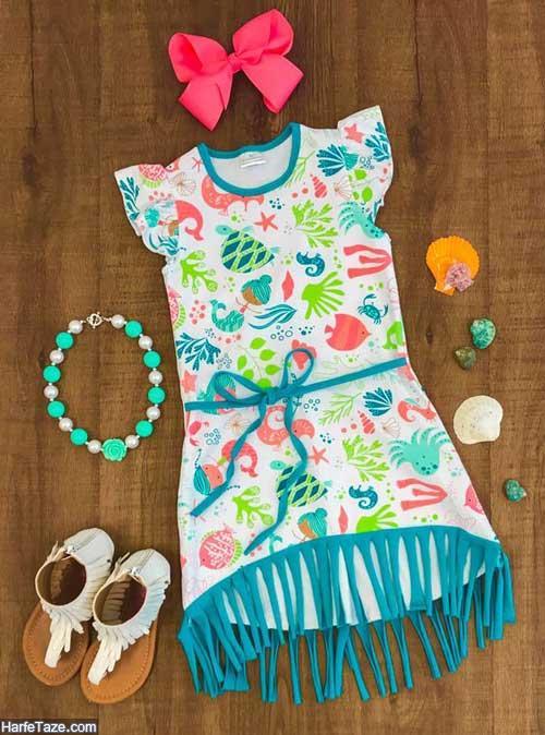 لباس تابستانی دخترانه