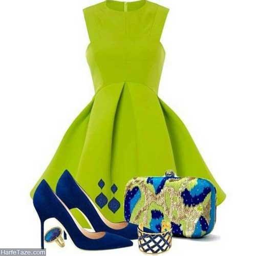 لباس زنانه سبز