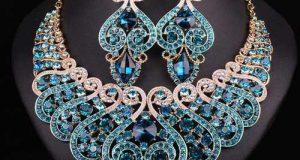 مدلهای لوکس سرویس جواهر با سنگهای قیمتی