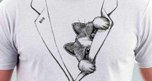 مدلهای تیشرت فانتزی مردانه آستین کوتاه + نکات خرید تیشرت