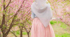 عکس دختر واقعی پروفایل در طبیعت + جملات زیبا و دلنشین