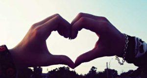 عکس قلب با دست دختر و پسر ویژه پروفایل