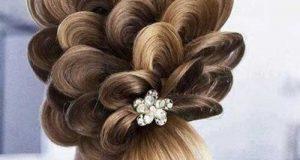 زیباترین مدلهای آرایش مو برای عروسی و مهمانی + نگهداری از مو