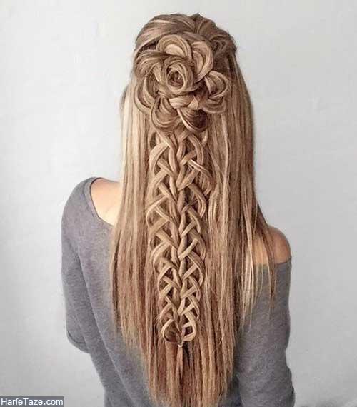 بافت موی بلند