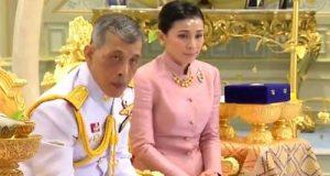 پادشاه تایلند با محافظ شخصی خود ازدواج کرد + تصاویر