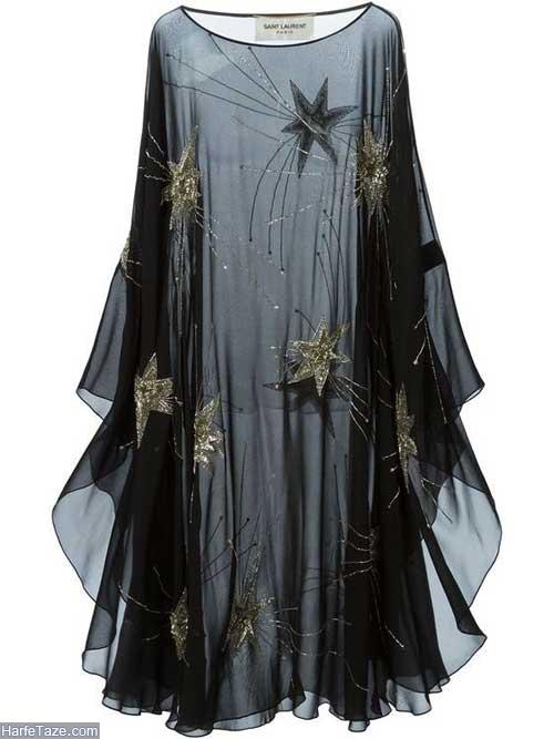 لباس حریر مجلسی