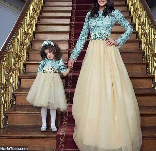 لباس مادر دختری