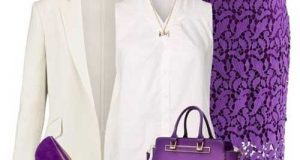 ست لباس زنانه با دامن مجلسی و کیف و کفش + نکات پوشیدن دامن