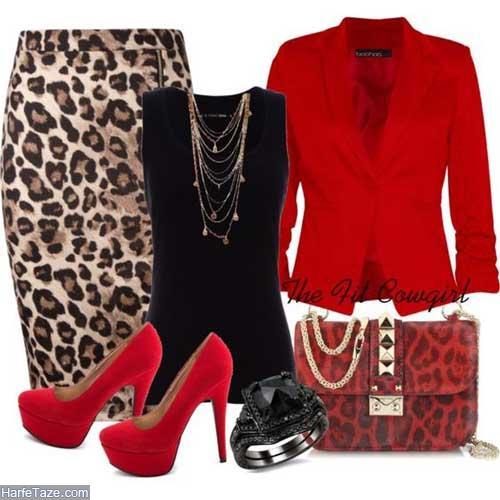 لباس زنانه پلنگی
