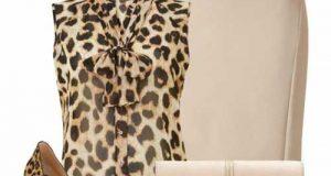 ست لباس زنانه پلنگی   راهنمای ست کردن طرح پلنگی