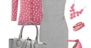 ست لباس زنانه طوسی رنگ | راهنمای ست کردن رنگ طوسی