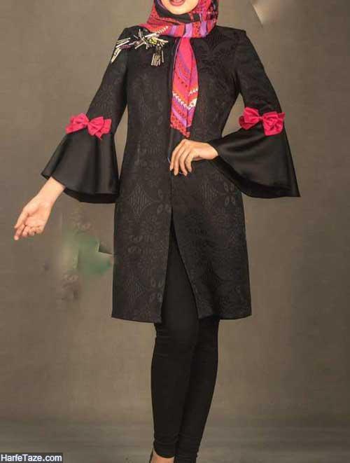مدل مانتو مشکی