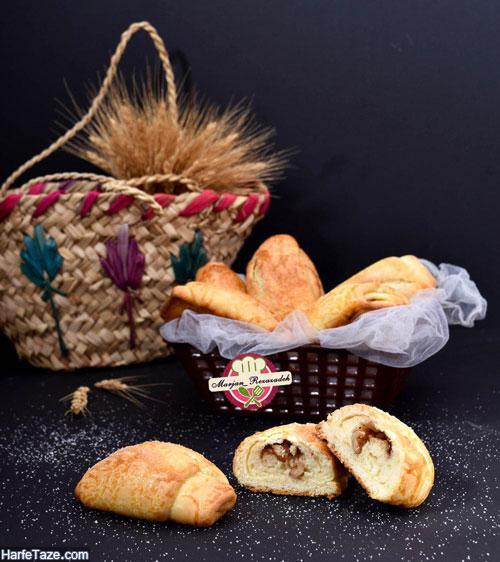 نان کره ای مغزدار