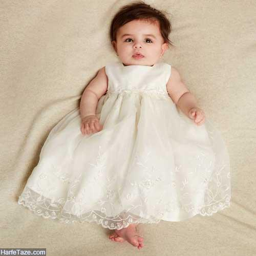 پیراهن نوزادی