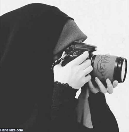 پروفایل دختر عکاس