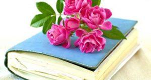 عکس پروفایل گل و کتاب برای تلگرام + متن زیبا و دلنشین