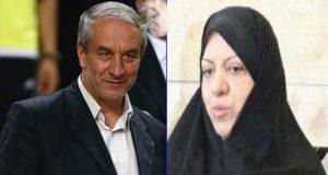 بیوگرافی و عکس های علی کفاشیان و همسرش