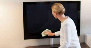 شیشه تلویزیون ال سی دی و ال ای دی را چگونه تمیز کنیم؟