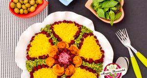 طرز تهیه آلبالو پلو با جوجه حلزونی مجلسی ؛ غذای خوشمزه تابستانی