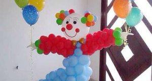 ایده های جالب و بامزه بادکنک آرایی تولد بچه ها با طرح های متنوع و شاد
