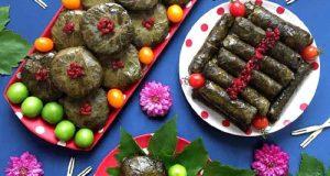 طرز تهیه دلمه برگ مو ؛ غذای لذیذ و خوشمزه ایرانی