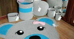 مدلهای فرش اتاق کودک با طرح کارتونی و دستباف کاموایی