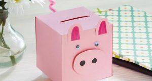 آموزش ساخت کاردستی قلک خوک برای آموزش پس انداز به کودکان
