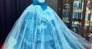 مدل های لباس مجلسی توری زنانه در مدلهای شیک و بلند و رنگارنگ