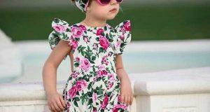 تیپ و استایل دختر بچه های خوشگل و بامزه با لباس تابستانی