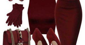کلکسیون ست های جدید و زیبا برای استایل زرشکی خانم های شیک پوش