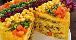 طرز تهیه تهچین سبزیجات برای دوستداران سبزیجات