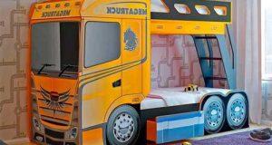 مدلهای جدید و متنوع تخت خواب دو طبقه کودک با طرح های فانتزی