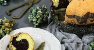 طرز تهیه کیک دو رنگ خانگی مناسب برای عصرانه