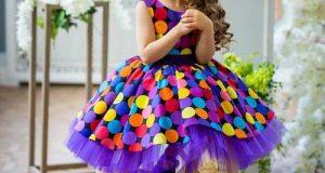 مدلهای جدید و زیبای پیراهن مجلسی دختربچه های ناز برای جشن تولد